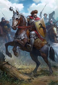 The Witcher/ Kaedweni Cavalry/ Gwent Card/ Northern Realms