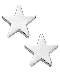 Studio Silver Sterling Silver Earrings, Star Stud Earrings