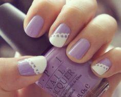 Purple Nail Polish Designs | via spabeautyexpo australia