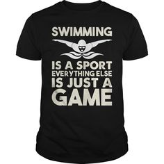 SWIMMING IS ᗑ A SPORT EVERYTHING ELSE IS JUST A ᑎ‰ GAMESWIMMING IS A SPORT EVERYTHING ELSE IS JUST A GAMESWIMMING