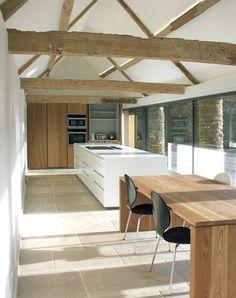 Elegant Barn Conversion Kitchen Designs