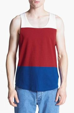 Get your tank on. Red, White, & Blue style.