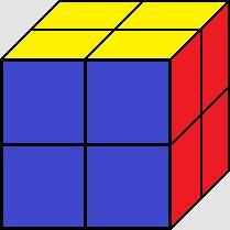 2x2x2 Rubik's Cube - The Pocket Cube