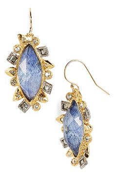 Women's Alexis Bittar 'Elements' Drop Earrings - Silver/ Gold/ Sodalite