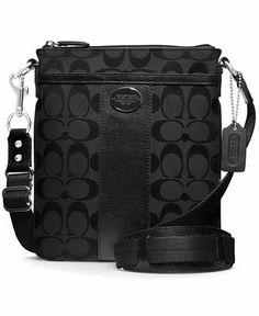 f8ce608670e0 COACH LEGACY SIGNATURE SWINGPACK - COACH - Handbags  amp  Accessories -  Macy s Cheap Designer Handbags