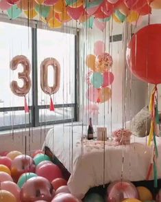 16th Birthday Decorations, Paper Party Decorations, Decoration Table, Birthday Girl Pictures, Birthday Photos, Adult Birthday Party, Birthday Diy, Birthday Goals, Birthday Balloons