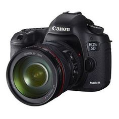 Canon EOS 5D MKIII Digital SLR Camera with 24-105mm Lens