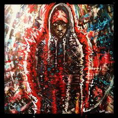 Trayvon Martin by Kevin Lee McQueen. - click through for more art paying tribute to Trayvon
