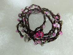 Boho Strand:  bead-crocheted wrap by 1LittleRobinsNest on Etsy