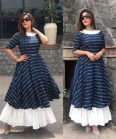 Book your dresses stiched and customised in any color and size. Order at 918968922443 Sizes available S to Shipping worldwide✈ For booking WhatsApp or call at 8968922443 Dress Indian Style, Indian Fashion Dresses, Indian Designer Outfits, Designer Dresses, Stylish Dresses For Girls, Stylish Dress Designs, Designs For Dresses, Stylish Kurtis Design, Kurti Neck Designs