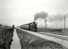 Железные дороги  начала 20-го века на снимках американских фотографов (17)