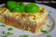KOLOŽVÁRSKA KAPUSTA Meatloaf, Lasagna, Sandwiches, Cooking Recipes, Menu, Ethnic Recipes, Food Cakes, Menu Board Design, Lasagne