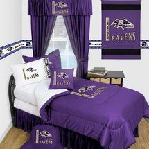Baltimore Ravens Locker Room Bedding & Accessories