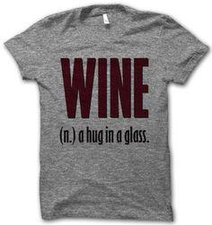 #wine #awesome #tshirt