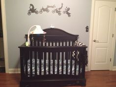 Crib and Moto stickers for wall decor