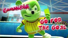 Gummibär - Go For The Goal - World Cup Soccer Song English Funny Gummy Bear Gummy Bear Song, Bear Songs, Cartoon Songs, Funny Bears, Soccer Skills, Bear Pictures, Soccer Stars, Soccer World, Fifa World Cup