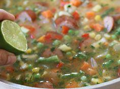 Arroz Mixto con Salchicha Et Yemekleri Mexican Food Recipes, Ethnic Recipes, Salsa, Food And Drink, Revolver, Tips, Yummy Recipes, Shape, Amor
