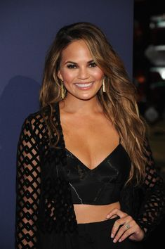 Chrissy Teigen Photos: NBA 2K15 Launch Celebration Launch Celebrities, Teigen Stunning, York Cities, Stunning Waves, Launch Parties, 2K15 Launch, Nba 2K15, Celebrities Hairstylists, Chrissy Rise