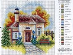 Thrilling Designing Your Own Cross Stitch Embroidery Patterns Ideas. Exhilarating Designing Your Own Cross Stitch Embroidery Patterns Ideas. Cross Stitch House, Cross Stitch Heart, Cross Stitch Flowers, Cross Stitch Kits, Cross Stitch Designs, Cross Stitch Patterns, Cross Stitching, Cross Stitch Embroidery, Embroidery Patterns