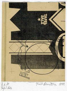 Kurt Schwitters — Table Salt – 1922