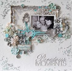 Amazing layout by talented Ingrid for Pion Desing. Alma's Sewing Room – Blue room PD3402  Alma's Sewing Room – Images PD3409