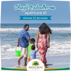 """#Recuerda que este viernes inauguramos """"Playa Caballeros""""."""
