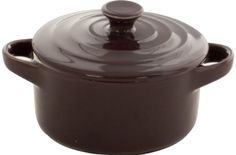 Sabichi 5.5-inch Brasserie Round Mini Casserole Sabichi… Dish Drainers, Dinner Sets, Bakeware, Cookware, Casserole, Tea Pots, Frying Pans, Dishes, Mini