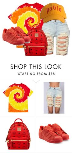 """""""Untitled #73"""" by trillqueen34 ❤ liked on Polyvore featuring Opening Ceremony, MCM and adidas Originals"""