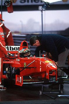 Michael Schumacher Ferrari 1998