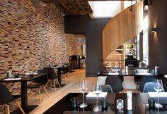 Bij Lieven in Brugge: Mooie inrichting, open keuken, vriendelijke bediening, lekker!