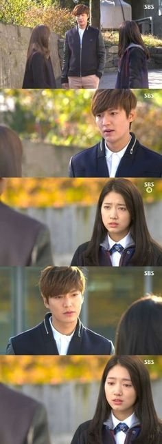 "nice 'Heirs' Lee Min Ho Suggests Park Shin Hye, ""Let's Elope"""