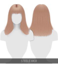 Simpliciaty: Steele hair - Sims 4 Hairs - http://sims4hairs.com/simpliciaty-steele-hair/