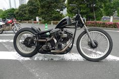 'Strike Narrow Eagle' 1979 Harley Davidson Shovelhead by Hide Motorcycle (Japan)