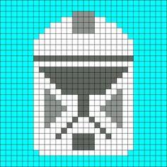 Clone Trooper Crochet Pattern