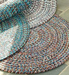 Braiding rugs became close to an art form, and going above the skills of someone who wants to make simple and inexpensive flo