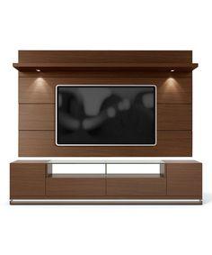 Look at this #zulilyfind! Nut Brown Vanderbilt TV Stand