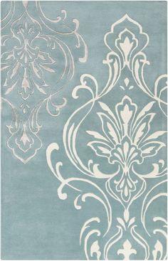 Surya Modern Classics Candace Olson CAN229 Peach Cream Rug   Contemporary Rugs