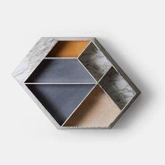 Earthquake Marble Bookcase - 04 - Monologue London