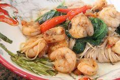 Mix and Match Mama: Dinner Tonight: Spicy Shrimp Pasta