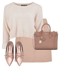 """Untitled #13037"" by alexsrogers ❤ liked on Polyvore featuring Topshop and Yves Saint Laurent"