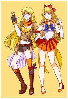 Really, Sailor moon crossover?