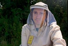 Meet the man who is allergic to sunlight - and hopes a Mrs Doubtfire-style mask will help him leave the house without blistering all over Mrs Doubtfire, 25 Years Old, The Man, Rain Jacket, Windbreaker, Style, Swag, Anorak Jacket, Outfits