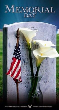 Memorial Day A grave marker at Arlington National Cemetery Happy Memorial Day Quotes, Memorial Day Pictures, Memorial Day Thank You, Thank You Quotes, National Cemetery, Ron, God Bless America, Veterans Day, Military Veterans