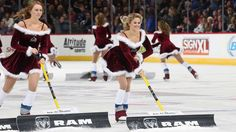 Hottest Ice Girls pics from the 2014-15 NHL season. Colorado Avalanche