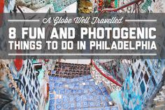 Philly's number one attraction is the Liberty Bell. Ever wondered what else there is to do? Here are 8 fun and photogenic things to do in Philadelphia!