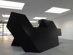 Tony Smith's Source (1967), is a monumental sculpture. Fabricated in steel and weighing over 12,000 pounds, this work is among Smith's most dynamic large-scale sculptures. It was first exhibited at Documenta IV in Kassel, Germany, in the summer of 1968. It was shown to stunning effect at Matthew Marks Gallery on West 22nd Street this past September/October 2012.