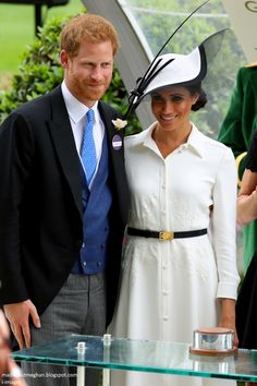 Mad About Meghan: The Duchess of Sussex Makes a Stylish Debut at Royal Ascot 2018
