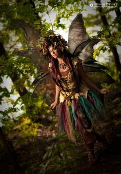 An awesome Woodland Fairy Costume. Look im going for