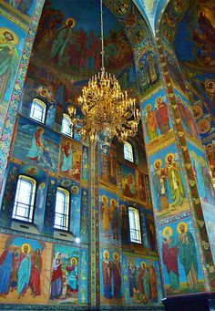 The Church of Our Saviour on the Spilled Blood,Saint Petersburg,Russia