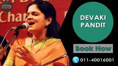 Book DEVAKI PANDIT From Artistebooking.com. #artistebooking #DEVAKIPANDIT #Singer. For More Details Visit : artistebooking.com Or Call : 011-40016001